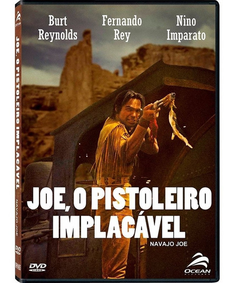 Joe, O Pistoleiro Implacável - Dvd - Burt Reynolds