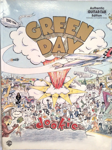 Songbook Green Day - Dookie (authentic Guitar Tab Edition)