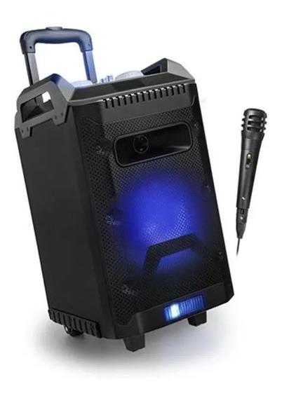 Caixa De Som Multilaser Torre Disco Light 150w Rms Sp299