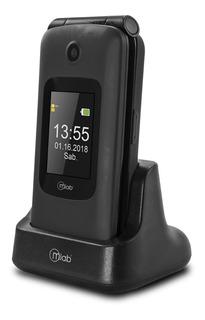 Teléfono Celular Adulto Mayor Teclas Grandes Tapa Con Visor