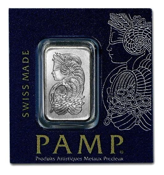 Robmar-lingote Pamp 1 G. Platino Puro 0,999,5 De 24 K,diosa