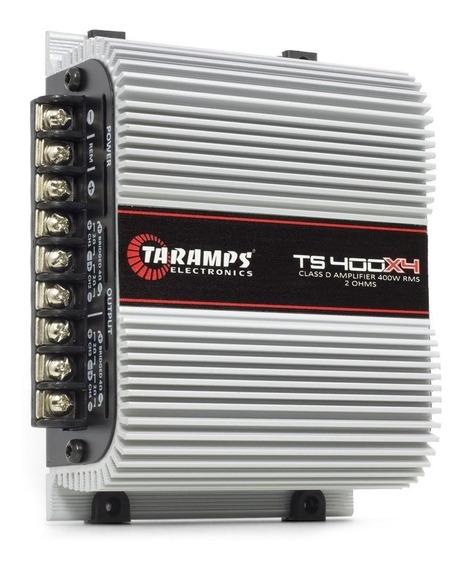 Taramps Ts 400x4 Amplificador Digital 400w Rms 4 Canais Som