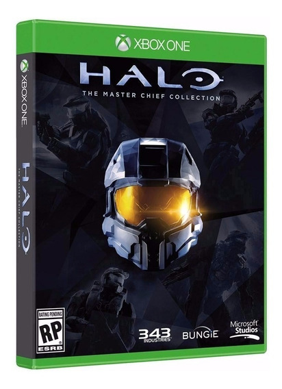 4 Jogos - Halo The Master Chief Collection ( Contem Halo 1 2 3 E 4 )- Midia Fisica Original E Lacrado - Xbox One