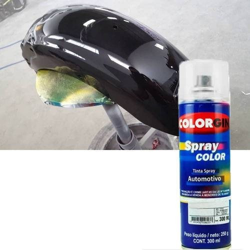 Tinta Spray Black Piano / Preto Cadillac 300ml