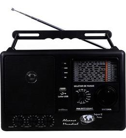 Radio Motobras Portatil 12 Faixas C/usb E Sd Card Promoção