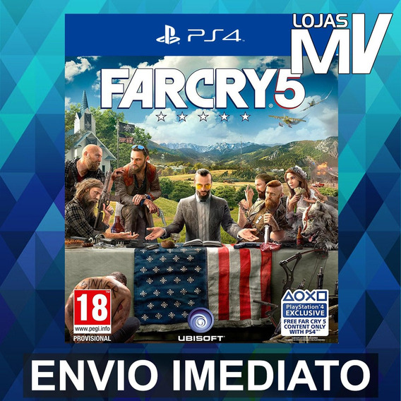 Far Cry 5 - Playstation 4 Ps4 Código 12 Dígitos
