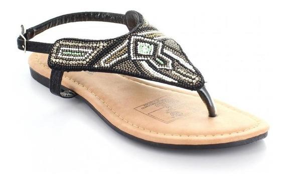 Sandalia Para Mujer Furor 11192-048073 Color Negro