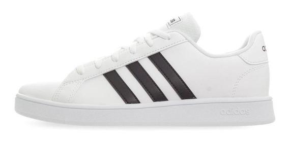 Tenis adidas Grand Court K - Ef0103 - Blanco - Niños