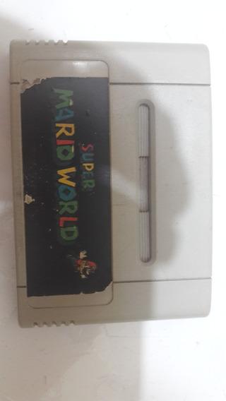 Fita De Super Nintendo Super Mario World Imperdivel