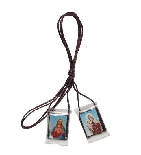 48 Unidades Escapulário Nossa Senhora Do Carmo Acrílico