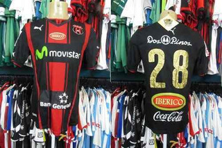 Liga Alajuelense 2014 Camisa Titular Tamanho M Número 28.