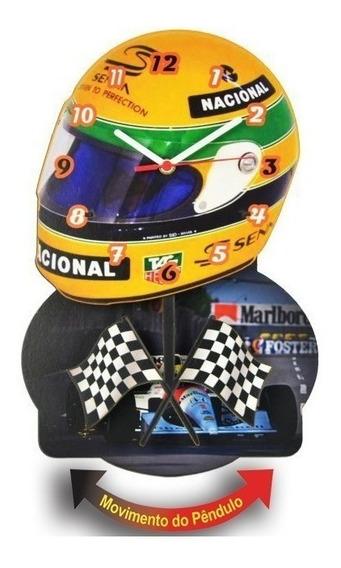 Relogio Pendulo Aryton Senna