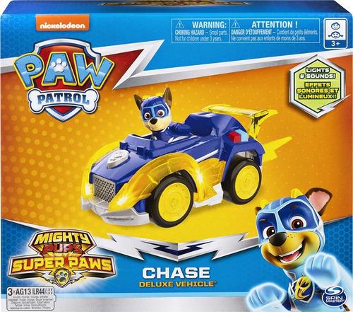 Paw Patrol Chase Deluxe Vehicle - Entrega Inmediata !!