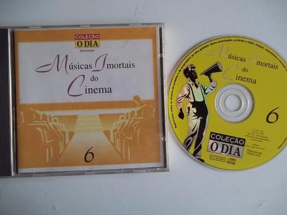 Cd . Musicas Imortais Do Cinema 6 - Coleçao O Dia