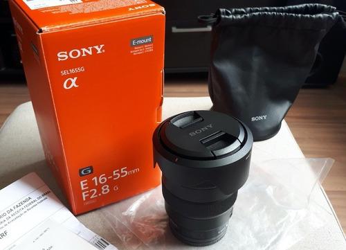 Imagem 1 de 2 de Lente Sony E-mount 16-55mm F/2.8 G - Nova - Zerada Na Caixa