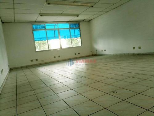 Imagem 1 de 10 de Sala Para Alugar Na Andromeda  1° Andar Frente Para Avenida, 52 M² Por R$ 1.200/mês - Jardim Satélite - São José Dos Campos/sp - Sa0383