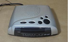 Rádio Relógio Cyber Sound Cr-003
