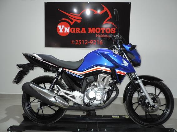 Honda Cg 160 Titan 2019 C 145 Km
