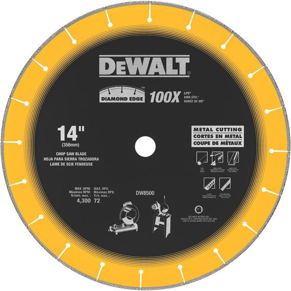 Disco Diamantado Plano 14 In Multicorte Metal Dw8500 Dewalt