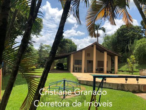 Imagem 1 de 9 de Chácara À Venda, Cercado, Araçoiaba Da Serra. - Sp - Ch0003_cris