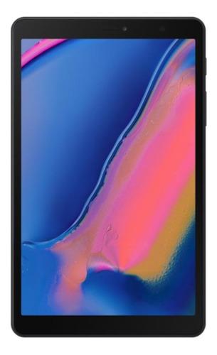 """Tablet Samsung Galaxy Tab A8 SM-P205 8"""" 32GB black com memória RAM 3GB  e conexão de telefone celular"""