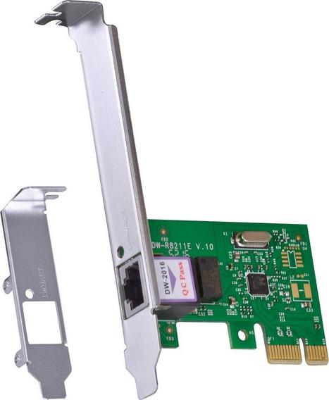 Placa Rede Pci Express X1 (mini Pci) 10/100/1000 Low Profile