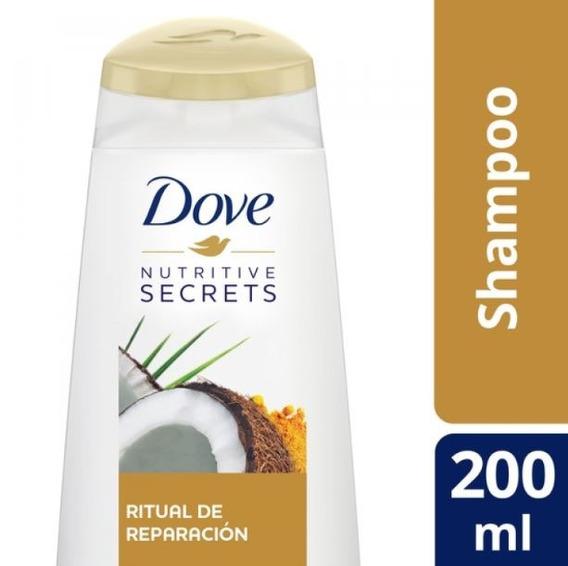 Shampoo Dove Ritual De Reparacion 200 Ml.