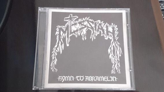 Cd Messiah - Hymn To Abramelin (novo Não Lacrado Importado)