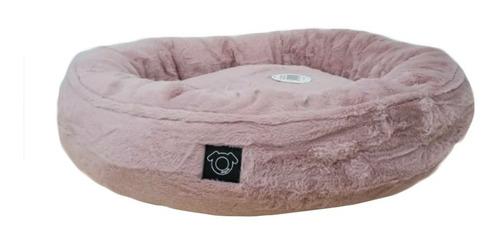 Cama Para Perro Cama Plush Redonda Pink  Doguiz