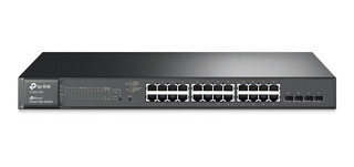 Smart Switch Tp Link Sg 2424p - Poe 24 Puertos Gigabit Sfp
