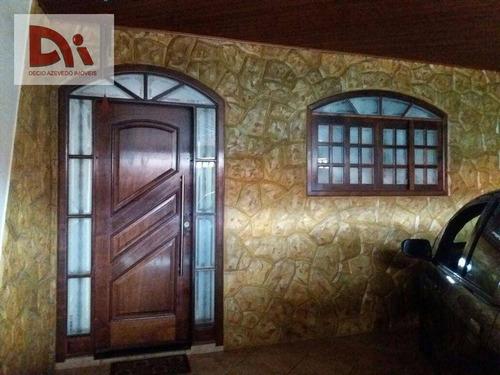 Imagem 1 de 12 de Casa Com 3 Dormitórios À Venda, 160 M² Por R$ 300.000,00 - Jardim Ana Rosa - Taubaté/sp - Ca0133