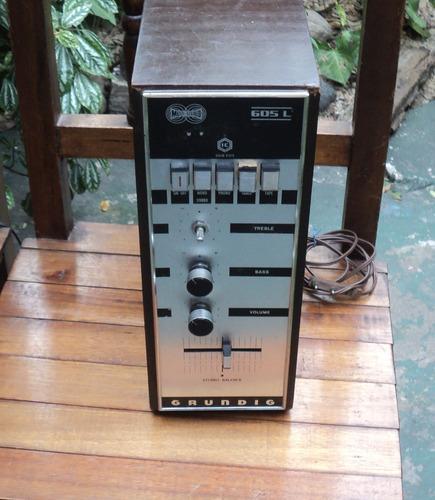 Amplificador Grundig Modelo Rt - 605 L