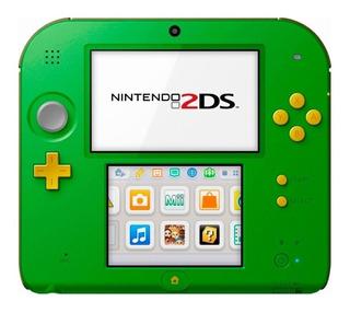 Nintendo 2DS Link Edition verde/negro