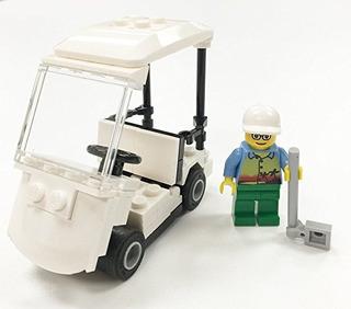 Construibles Carro De Golf Mini Modelo De Piezas E Instrucci