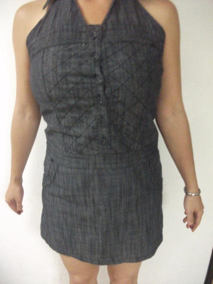 Vestido Jean Casual Usado Usado Talla S Tienda Virtual