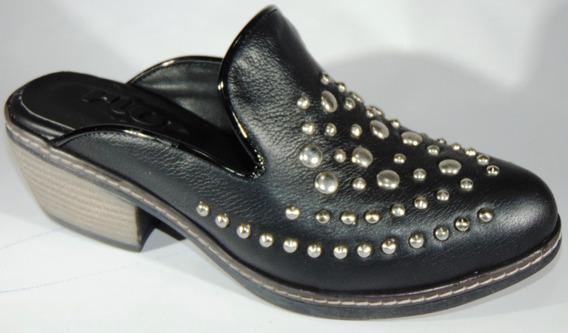 Sandalias Zapatos Suecos Cuero Art 1184