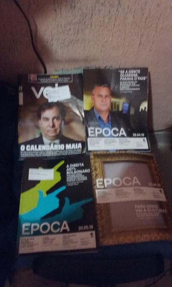 Revista Veja E Època 06 Unidades Oferta 20 Reais