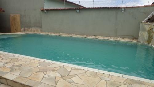 Casa Com Piscina No Balneário Tupy Em Itanhaém 6104 | Npc