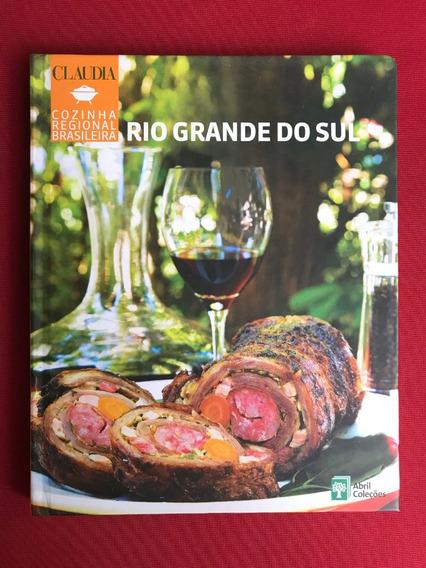 Livro - Cozinha Regional - Rio Grande Do Sul - Seminovo