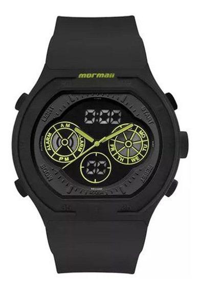Relógio Mormaii Mo160323ba8v Preto