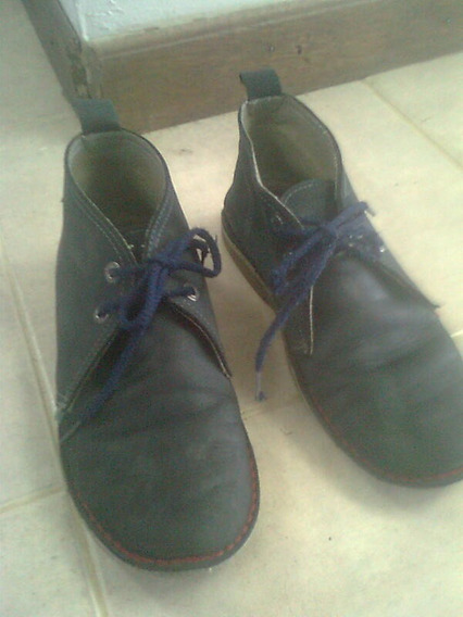 Zapatos Para Niños - Kickers- Usado Talla 34
