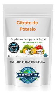 Citrato De Potasio 500 Grs Nitro Fuel Supplements