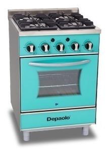 Cocina Cirstal De 4 Hornallas 570 Depaolo
