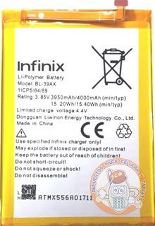 Bateria Infinix Bl-39ax / Hot 4 Pro / X556 / Bogota Centro