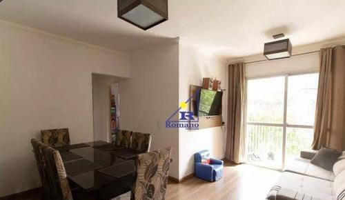 Imagem 1 de 18 de Apartamento Com 3 Dormitórios À Venda, 72 M² Por R$ 477.000,00 - Vila Ema - São Paulo/sp - Ap4320