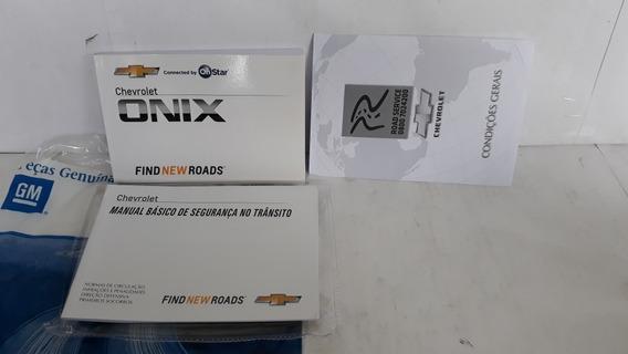 Manual Do Proprietário Onix 2017/18 Em Branco Completo