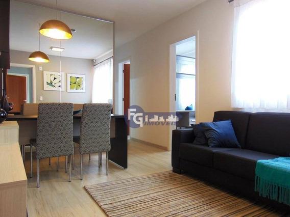Apartamento Com 3 Dormitórios À Venda, 54 M² Por R$ 149.900,00 - Jardim Esmeralda - Colombo/pr - Ap0086