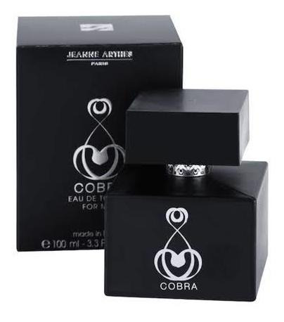 Perfume Cobra Jeanne Arthes Masculino + Brinde