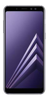 Samsung Galaxy A8+ Dual SIM 64 GB Cinza-orquídea 4 GB RAM