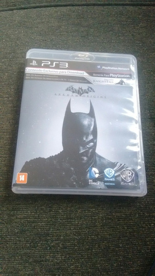 Batman Arkham Origins Semi Novo/perfeito Estado Original Ps3